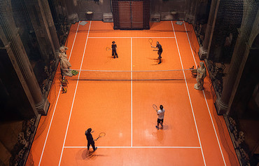 Intalie Tennis Interieur